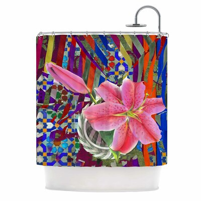 Lily Explosion by S Seema Z Shower Curtain