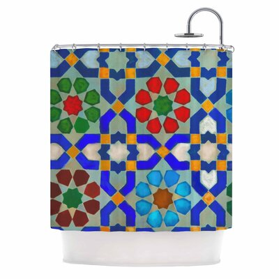 Morrocon by S Seema Z Shower Curtain