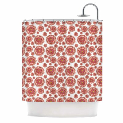 Flowers Gerbera by Alisa Drukman Floral Shower Curtain