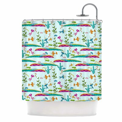Under Sea by Alisa Drukman Shower Curtain