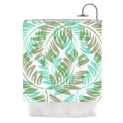 Winter Fern by Alison Coxon Shower Curtain