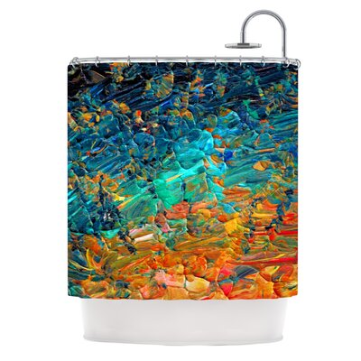 Eternal Tide II by Ebi Emporium Shower Curtain