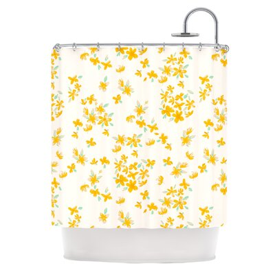 Kashmir Garden by Gukuuki Shower Curtain
