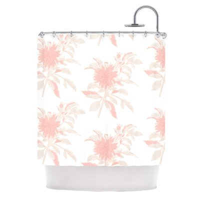 Pastel Fluers by Gukuuki Shower Curtain