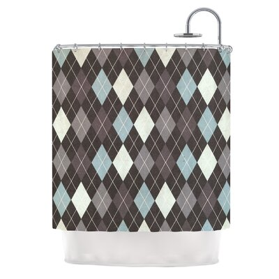 Argyle by Heidi Jennings Shower Curtain
