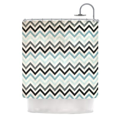 Chevron by Heidi Jennings Shower Curtain