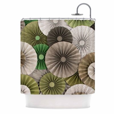 Forest by Heidi Jennings Abstract Shower Curtain
