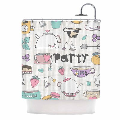 Tea Party by MaJoBV Shower Curtain