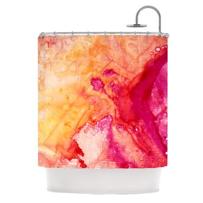 Color River IV by Malia Shields Shower Curtain
