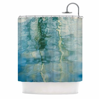 Fluidity Series 2 by Malia Shields Shower Curtain