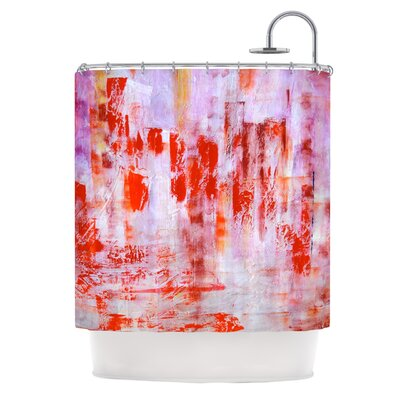 Painted Cityscape by Malia Shields Shower Curtain