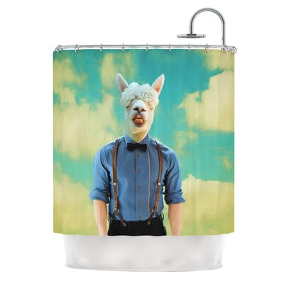 Passenger 19H by Natt Shower Curtain