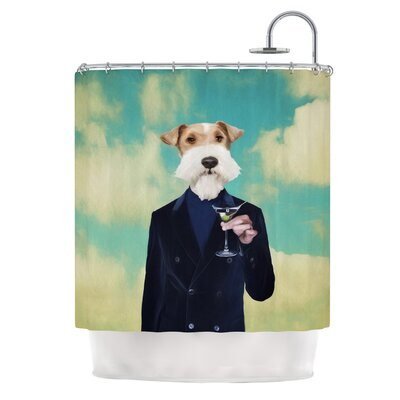 Passenger 8F by Natt Schnauzer Shower Curtain