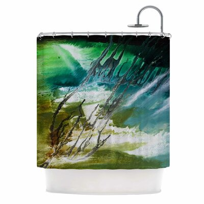Ocean Majestic by Steve Dix Shower Curtain