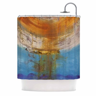 Source of Energy by Steve Dix Shower Curtain