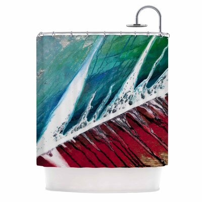 Splish Splash by Steve Dix Shower Curtain