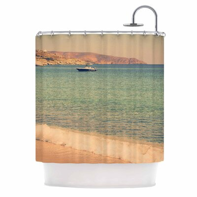 Drifting By by Violet Hudson Shower Curtain