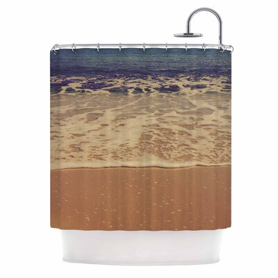 Ombre Beach by Violet Hudson Shower Curtain