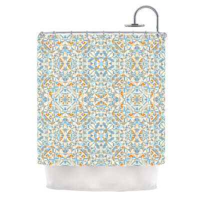 Coastal by Allison Soupcoff Shower Curtain