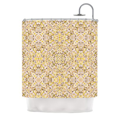 Hint by Allison Soupcoff Shower Curtain