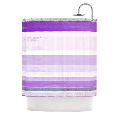 Grape by CarolLynn Tice Shower Curtain