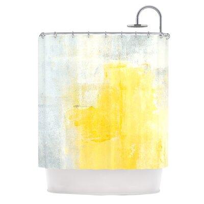 Stability by CarolLynn Tice Shower Curtain