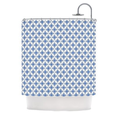 Bohemian Blues III by Carolyn Greifeld Shower Curtain