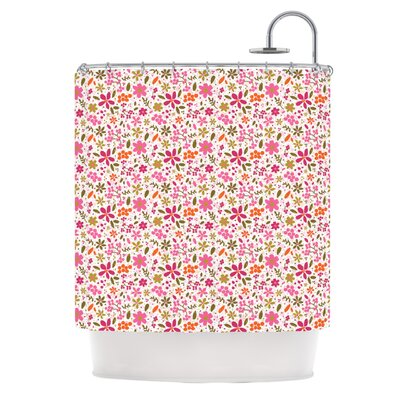 Flowers Garden by Carolyn Greifeld Shower Curtain