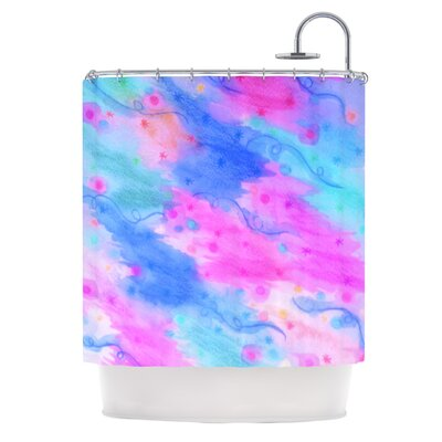 Seeing Stars II by Ebi Emporium Shower Curtain