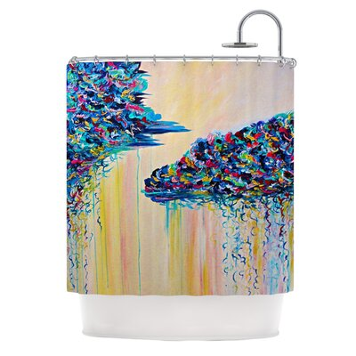 Silver Linings by Ebi Emporium Shower Curtain