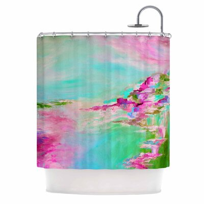 Something About the Sea 2 by Ebi Emporium Shower Curtain