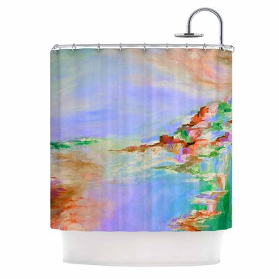 Something About the Sea 3 by Ebi Emporium Shower Curtain