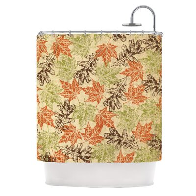 Leaf it to Me by Heidi Jennings Shower Curtain