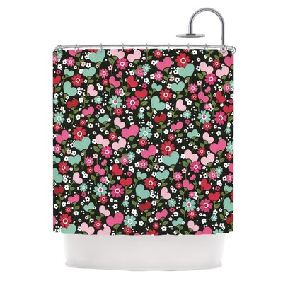 Love is Growing by Heidi Jennings Shower Curtain