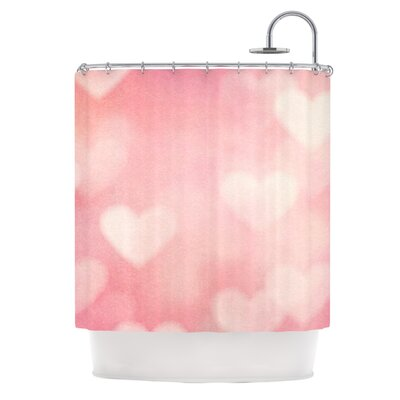 Love is in the Air by Heidi Jennings Shower Curtain