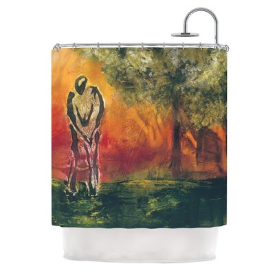 Par by Josh Serafin Golf Shower Curtain