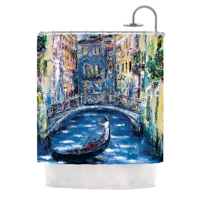 Venice by Josh Serafin Travel Italy Shower Curtain