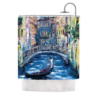 Venice by Josh Serafin Travel Italy Shower Curtain