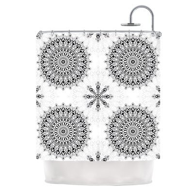 Mandala by Julia Grifol Shower Curtain