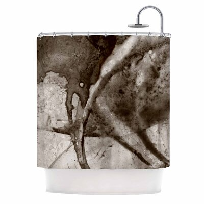 Universe Series BW by Malia Shields Shower Curtain