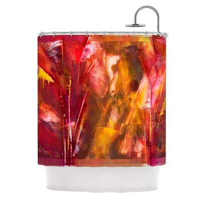 Warmth by Malia Shields Shower Curtain