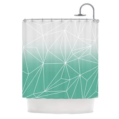 Simplicity by Mareike Boehmer Shower Curtain