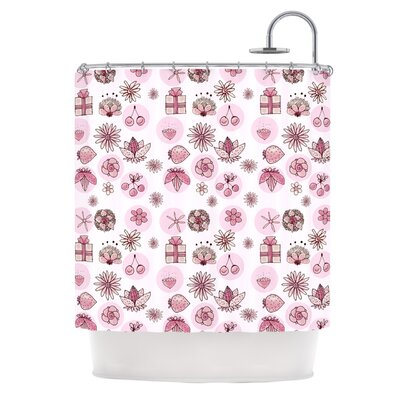 Cute Stuff by Marianna Tankelevich Illustration Shower Curtain