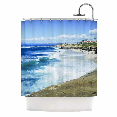 Beach Playground by Nick Nareshni Shower Curtain