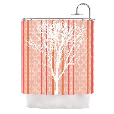 Spring Tree by Pellerina Design Pastel Shower Curtain