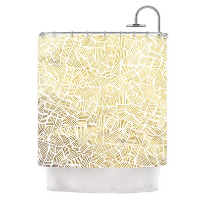 Inca Gold Trail by Pom Graphic Design Shower Curtain