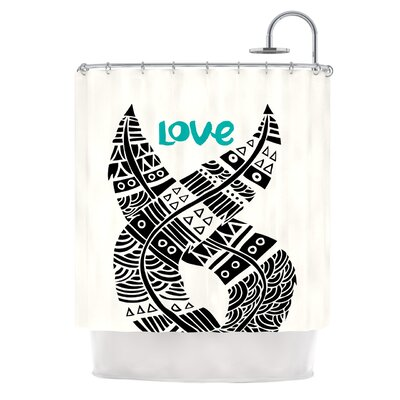United Love by Pom Graphic Design Tribal Shower Curtain