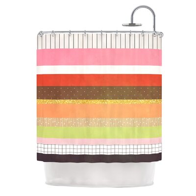Mix by Strawberringo Hodge Podge Shower Curtain