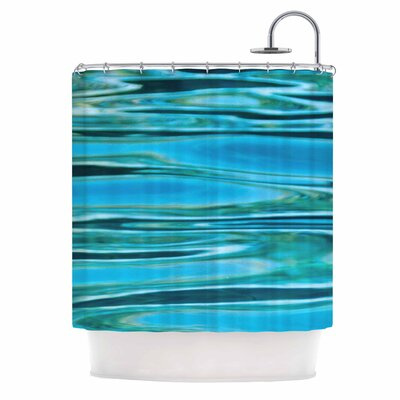 Water by Susan Sanders Shower Curtain