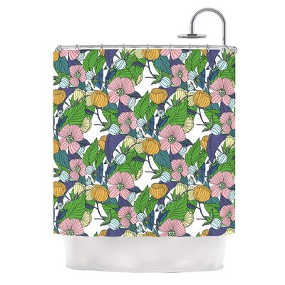 Spring Foliage by Catherine Holcombe Floral Pastels Shower Curtain